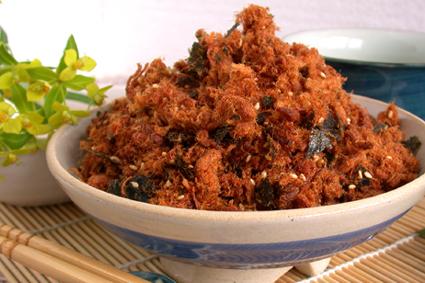 芝麻海苔肉鬆
